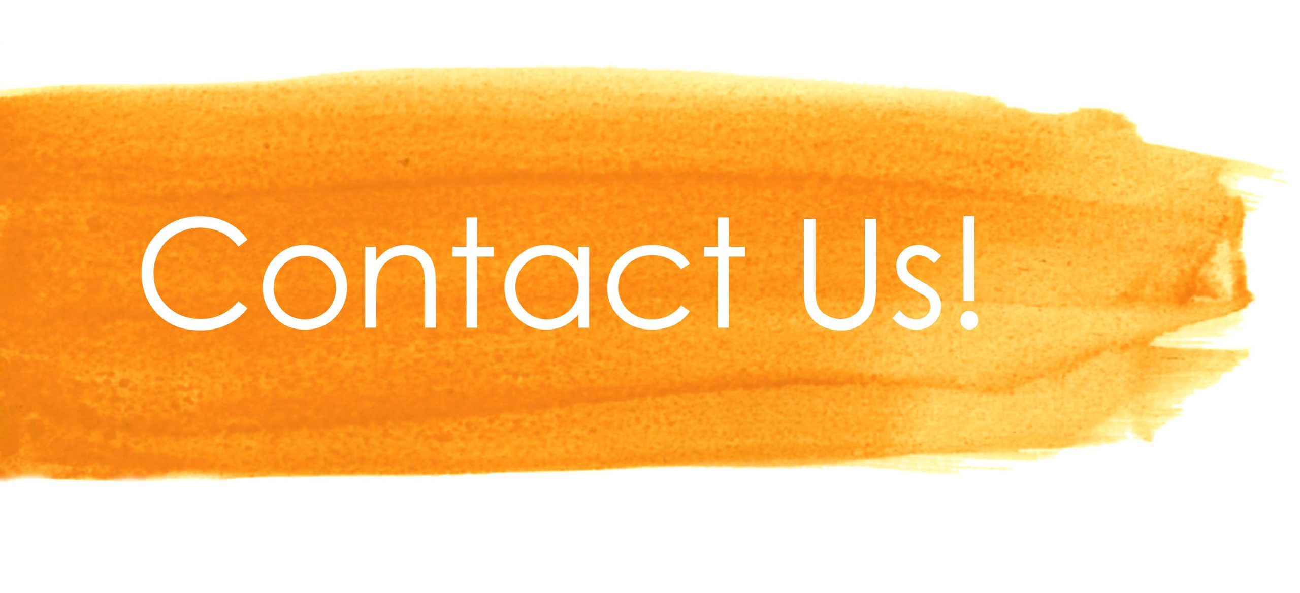 contact us lmc orange brushstroke